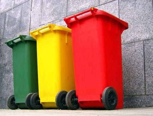 Ozono en cuartos de basura