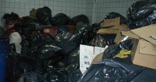 Eliminar olores en cuartos de basura